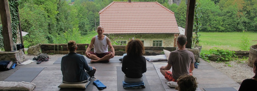 yoga at our yogalaurent retreats